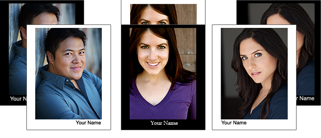 Motive Retouching's Headshot BORDER & NAME Samples
